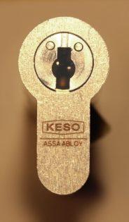 KESO 4000S Schließzylinder mit Bohr- und Ziehschutz